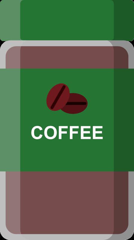 インスタントコーヒー緑