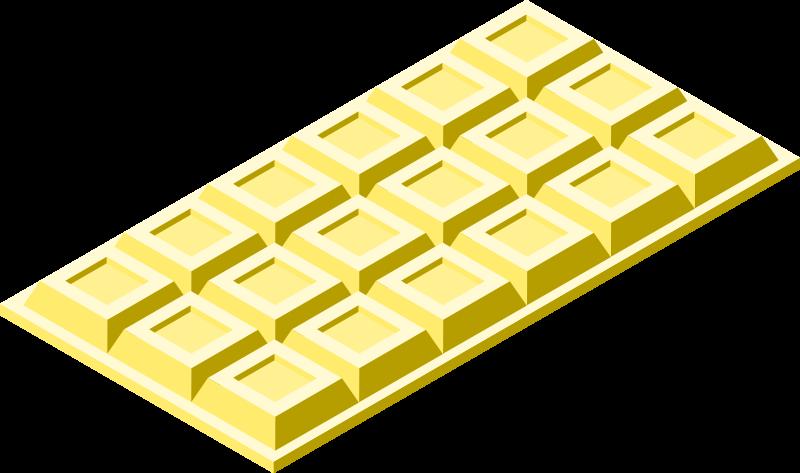 板チョコホワイト