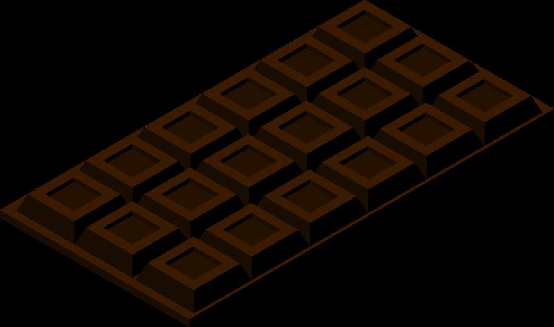 板チョコブラック
